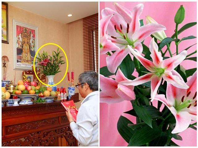 Những loại hoa đẹp không nên rước lên bàn thờ