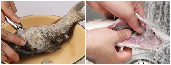 Cách nấu cháo cá chép ngon bổ dưỡng không bị tanh cho bà bầu và bé - 3