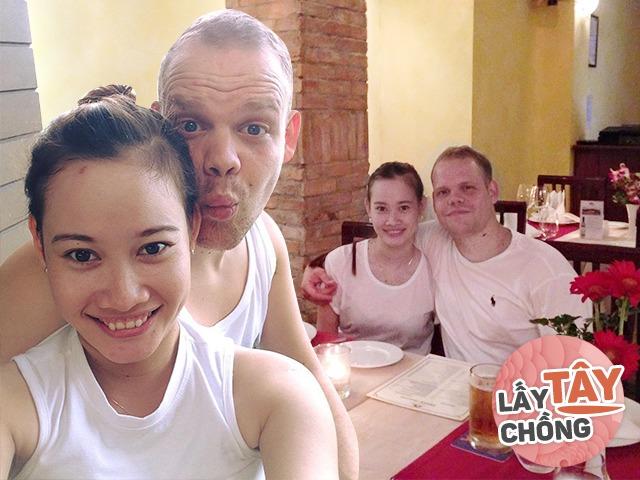 Trai Tây mất tích khi biết có bầu, cô gái Việt đẻ xong được cả nhà sang xin dâu