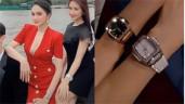 Hương Giang - Hoà Minzy đúng chuẩn cặp chị em giàu sụ khi độ đồng hồ nạm kim cương đôi