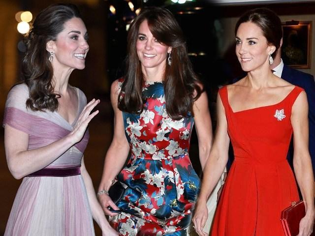 Mẹ 3 con Kate Middeton mặc đẹp váy cộc tay nhờ bộ phận không chút mỡ thừa này