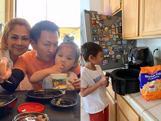 Sống tại Mỹ đắt đỏ, Thanh Thảo không tốn 1 xu thuê giúp việc chăm con trai Ngô Kiến Huy