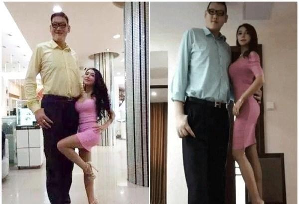 Phan Kim Liên hư nhất màn ảnh hết cặp chú lùn 1m lại yêu người khổng lồ 2m