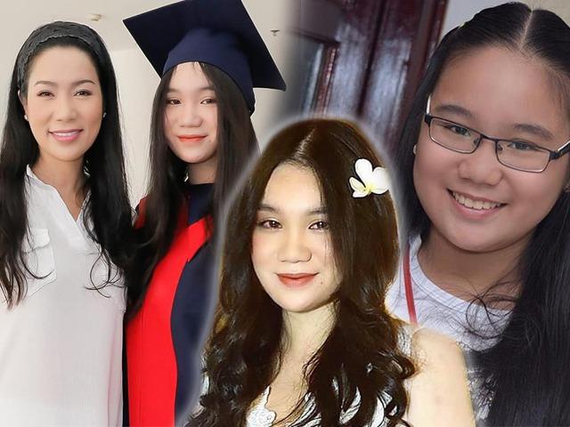 Ngày bé mũm mĩm giờ đã là nàng thơ, con gái Trịnh Kim Chi 17 tuổi cao hơn cả mẹ