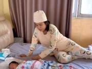 Đi đón vợ đẻ bỗng thấy   sai sai  , chồng vội vã quay lại bệnh viện thì thấy cảnh hú hồn