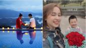 Sao Việt 24h: Vân Hugo lãng mạn bên người chồng thứ 2, dàn sao Việt chúc mừng rầm rộ