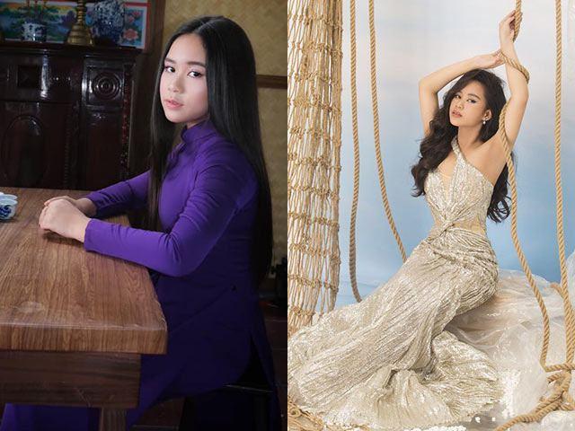 Đi ngang cái am, mẹ Việt vào xin, đẻ con Hoa hậu hoàn vũ nhí thế giới 12 tuổi 1m62