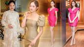 Từng tăng 18kg khi mang bầu, Lan Phương giờ về dáng đẹp mê, đụng đầmvới Hoa hậu không thua