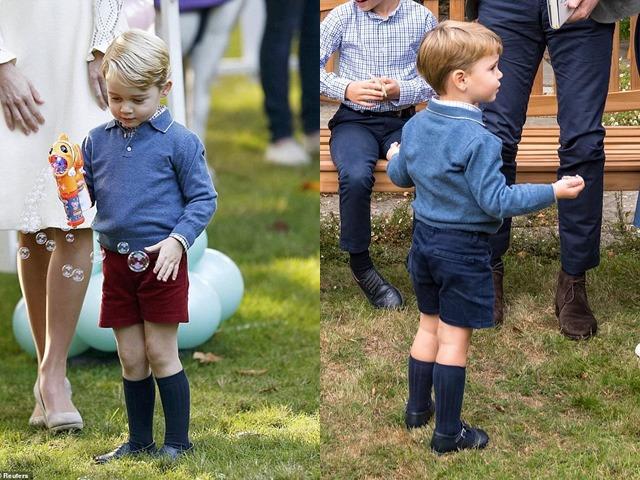 Hoàng tử út phải mặc đồ ăn mót của anh nhưng màn bị đòi quà của George mới thú vị
