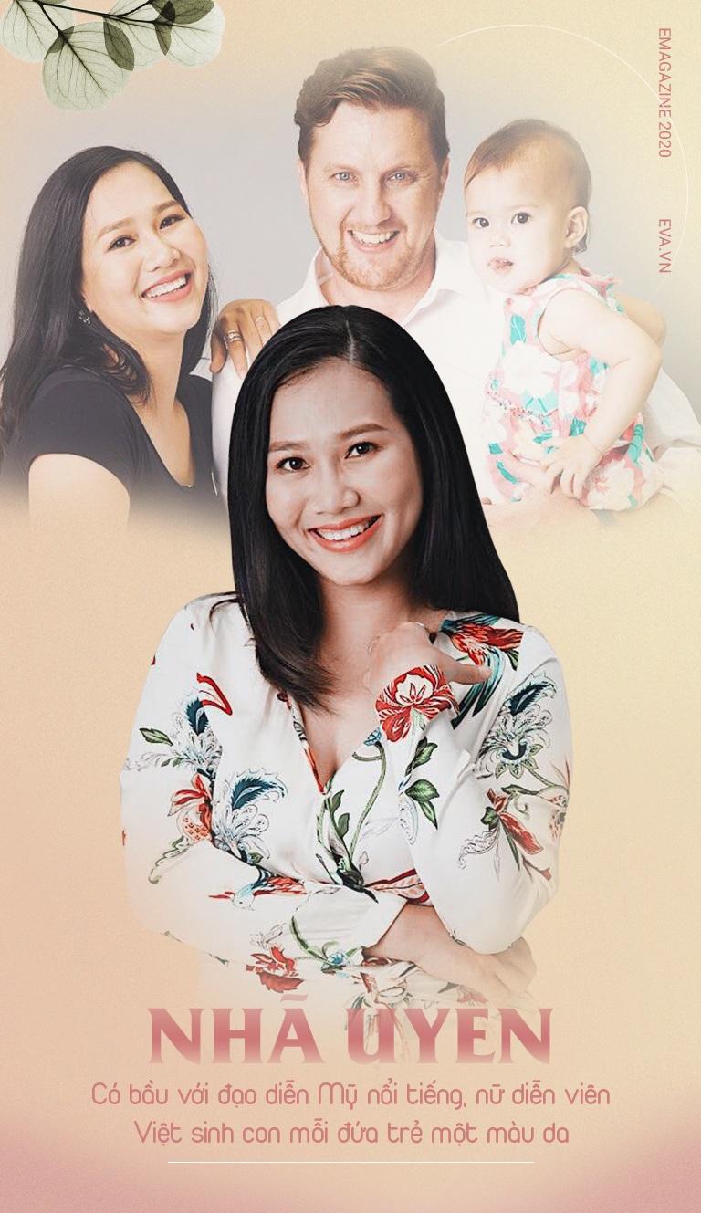 Có bầu với đạo diễn Mỹ nổi tiếng, nữ diễn viên Việt sinh con ra mỗi đứa một màu da - 2