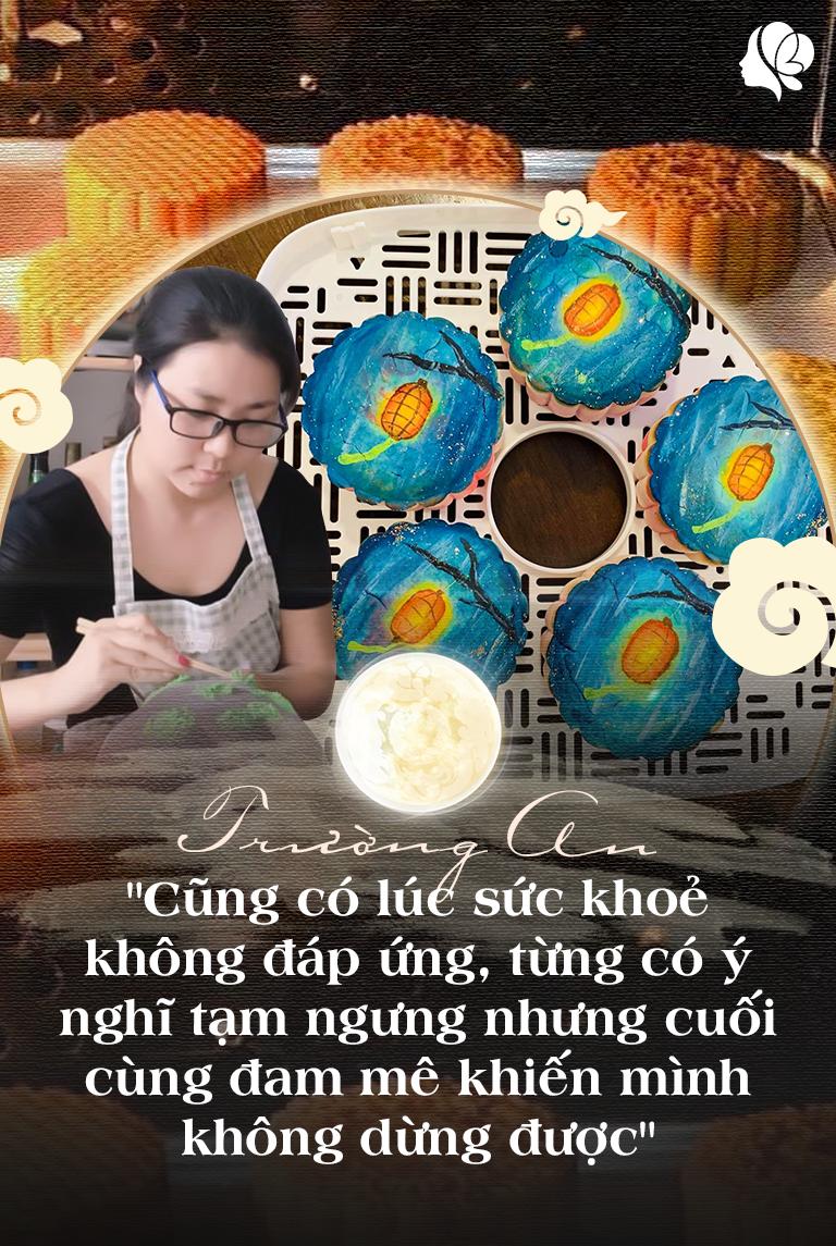 Bỏ việc ở nhà làm bánh, tạo ra bánh Trung thu vẽ tay, 8X Sài Gòn kiếm 60 triệu/tháng - 7