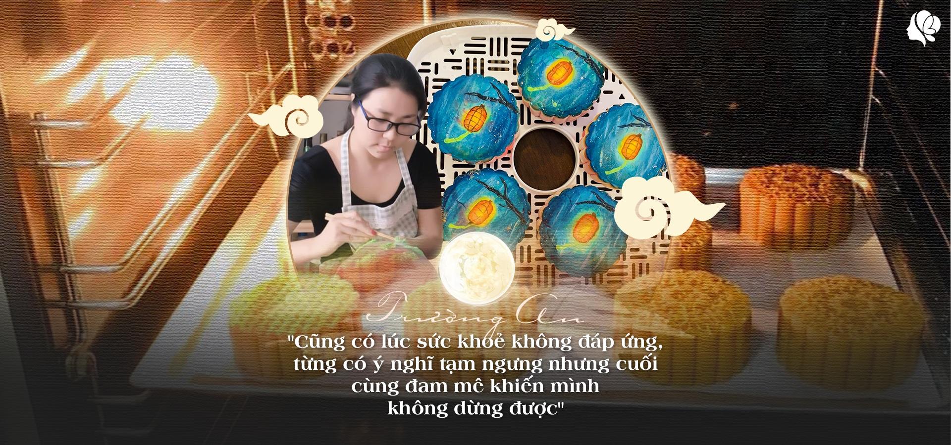 Bỏ việc ở nhà làm bánh, tạo ra bánh Trung thu vẽ tay, 8X Sài Gòn kiếm 60 triệu/tháng - 6