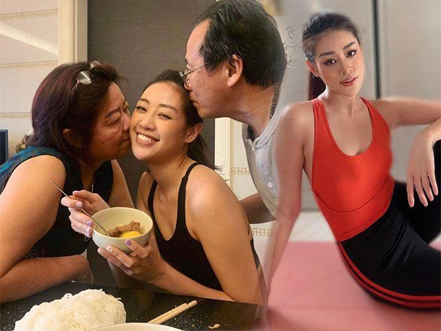 Sụt cân ốm nhom, Khánh Vân hết cách ly liền được mẹ tẩm bổ: Body quyến rũ sắp trở lại!