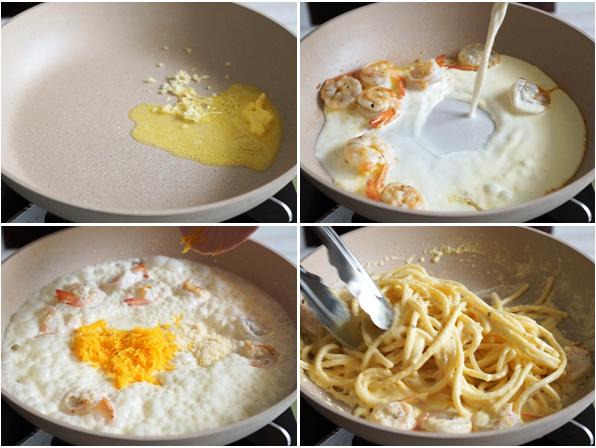 4 cách làm mì Ý sốt kem thơm ngon đơn giản nhất - 4