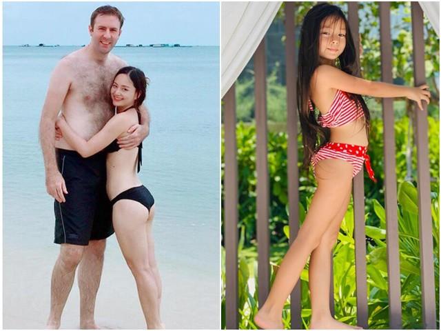 Mỹ nhân Việt nấm lùn sinh con cho chồng Tây cao 2m, nhìn đứa trẻ hiện tại mà xuýt xoa
