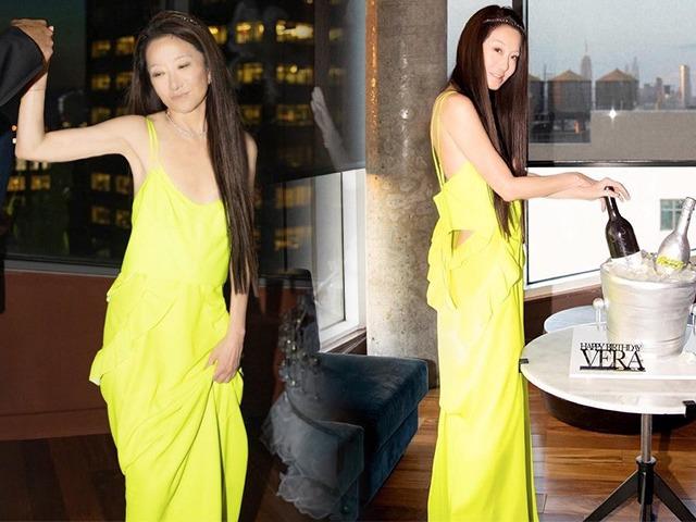 Bà hoàng váy cuới Vera Wang mừng sinh nhật tuổi 72, thân hình nuột nà như gái 27
