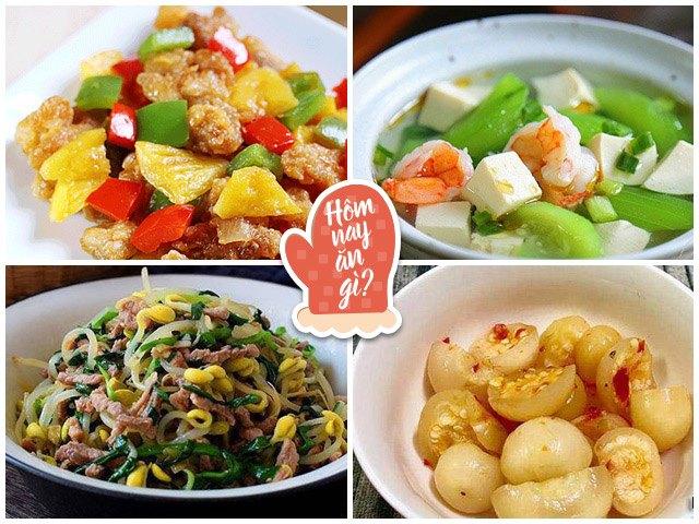Hôm nay ăn gì: Đổi gió vợ nấu toàn món ngon miệng, cả nhà rớt nước miếng đòi ăn ngay
