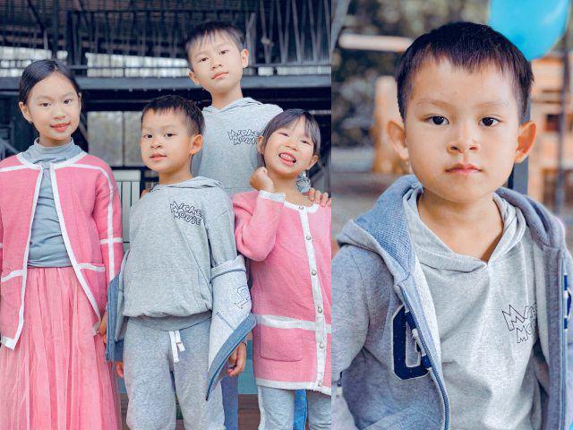 Con út Lý Hải khác biệt với các anh chị, mới 5 tuổi đã biết tiết kiệm cho bố mẹ