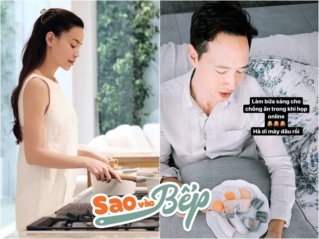 Đăng cảnh vào bếp bị coi thường, Hồ Ngọc Hà tự thốt lên khi khoe làm bữa sáng cho chồng