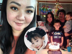 Ở ẩn sau tuổi thơ hào quang, bé Xuân Mai quá khác khi làm mẹ 3 con trên đất Mỹ