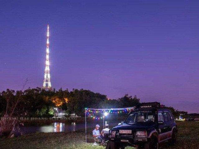 Teen Quảng Nam ngất ngây với Tháp Eiffel giữa lòng thành phố Tam Kỳ