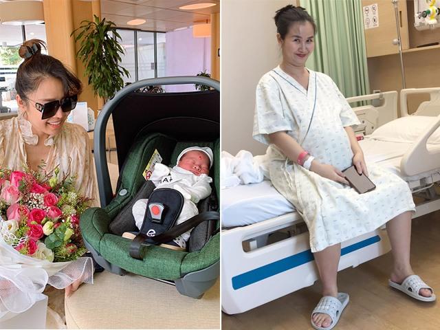 3 mỹ nhân Việt vừa sinh con: Đều chọn viện đắt đỏ, có người một mình lái xe đi đẻ