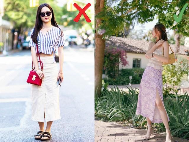 Biết 3 điều nên và không nên khi mặc chân váy lửng, nàng khỏi lo bị chê lùn một mẩu