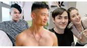 Dịch Covid, sao Việt trổ tài cắt tóc cho người thân, cười ngất với quả đầu em trai H'Hen Niê