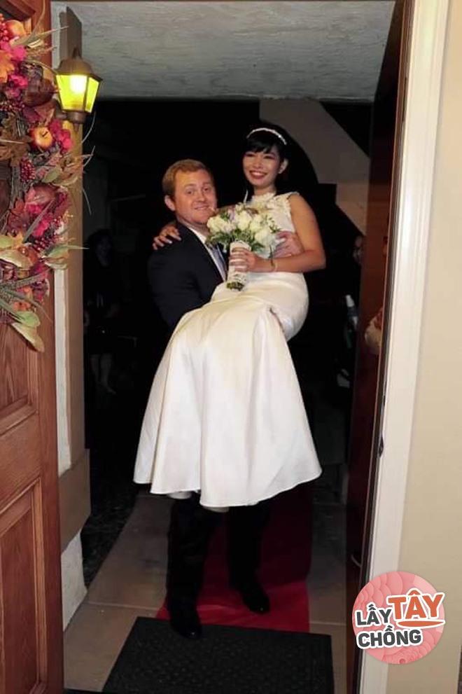 Một cái nháy mắt, 9X Đồng Nai khiến trai Mỹ đổ gục, cưới về bất ngờ vì duyên trời định