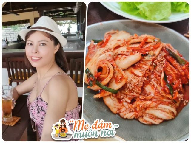 Giãn cách xã hội, 8X Bình Dương vào bếp làm kim chi Hàn Quốc 3 ngày là ăn được