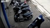 Kẻ trộm bẻ khoá cổ, lấy cắp Honda SH trong tích tắc
