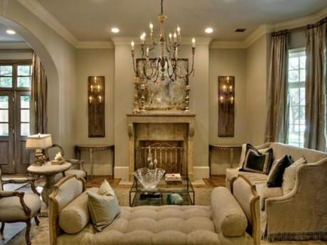 Đèn trang trí phòng khách đẹp, đơn giản và hiện đại
