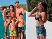 Cô gái làm Messi say đắm từ năm 9 tuổi, giờ làm mẹ 3 con vẫn quyến rũ hết nấc