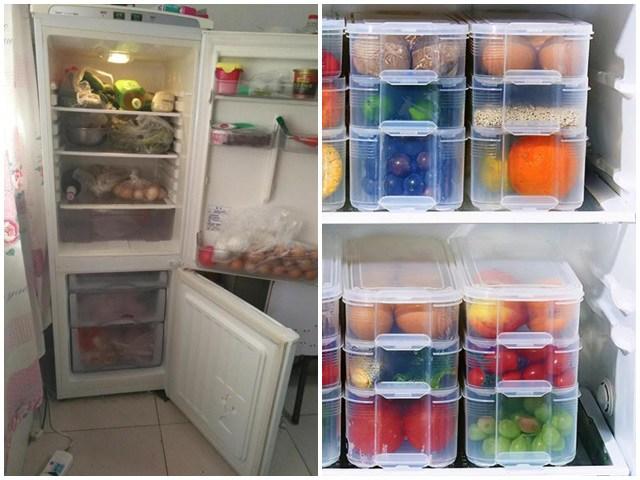Tủ lạnh đừng để túi nilong bên trong, người thông minh sẽ bảo quản thực phẩm theo cách này