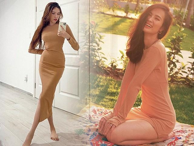 Đụng hàng váy khó mặc đẹp, mẹ bỉm Đông Nhi và MC gia thế khủng đối đầu khốc liệt