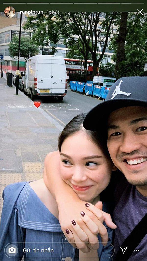 Em chồng Hà Tăng kỷ niệm 2 năm yêu với Linh Rin, so với năm ngoái lại khác thế này!