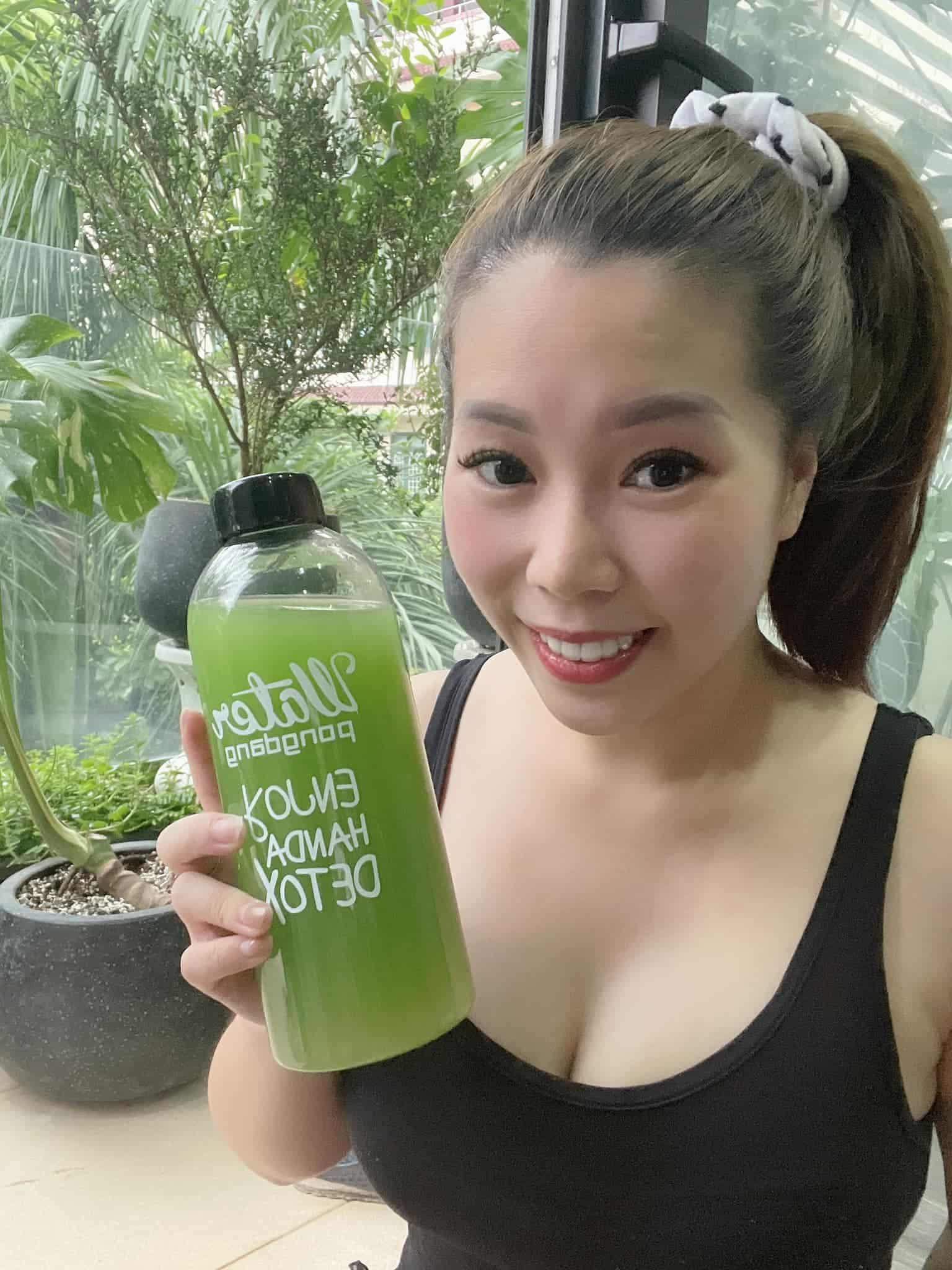 Bà xã Hồng Đăng uống loại thần dược xanh lè mỗi ngày 2 lít, giárẻ bèo thay luôn nước lọc