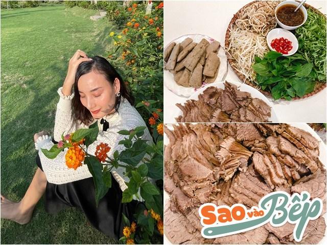 Sao vào bếp: Lê Thúy nấu bún bò xuất sắc làm mẹ ruột Hồ Ngọc Hà thốt lên tức khắc
