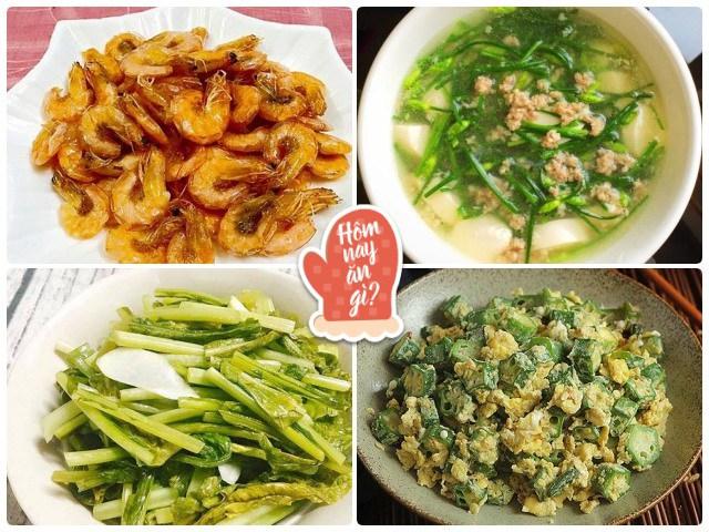 Hôm nay ăn gì: Mát trời nấu bữa tối giản dị mà ngon, vợ ngồi xới cơm mỏi tay