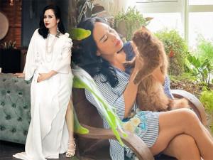 Lên chức bà ngoại vẫn sành,Thanh Lam ngày thường mê mặc giấu dángnay diện mốt sơmi giấu quần sexy