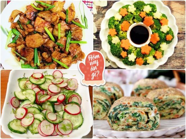 Hôm nay ăn gì: Nói chán cơm, vợ nấu bữa tối 4 món cả nhà lại đòi ăn ngay