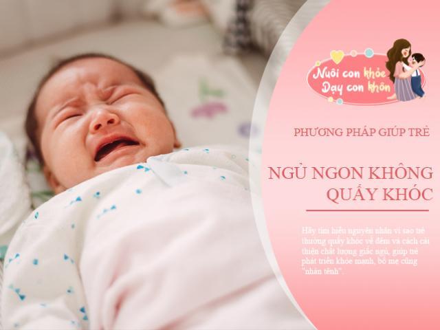 Thực hư trẻ quấy khóc đêm do thiếu canxi, chuyên gia giải đáp và mách cách giúp con ngủ ngon