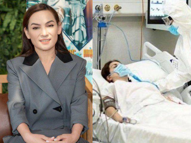 Sự thật tin Phi Nhung đang cầm cự từng hơi thở tại bệnh viện sau thời gian điều trị COVID-19