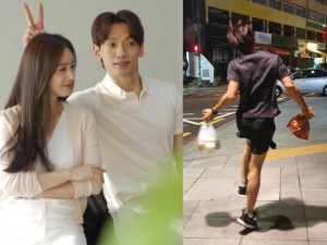 Giữa đêm, chồng Kim Tae Hee lọt top tìm kiếm, loạt ảnh mới nhất khiến fan giật mình