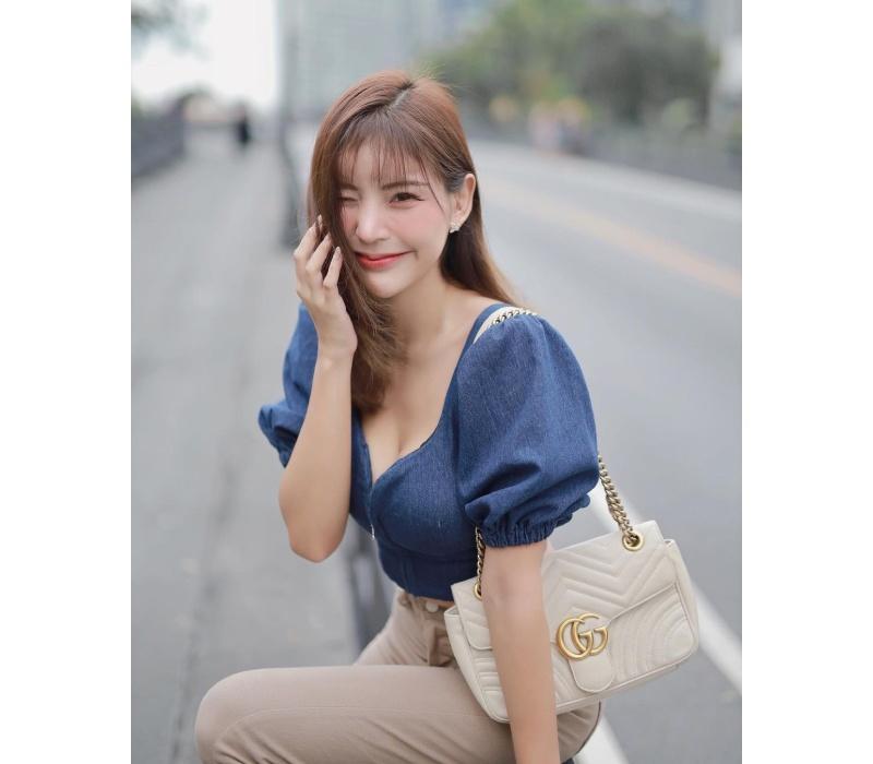 Maritdara Lokkhamlue, sinh năm 1999, được biết tới là một trong những gương mặt hot girl, người mẫu ảnh có tiếng tại Thái Lan ở thời điểm hiện tại.