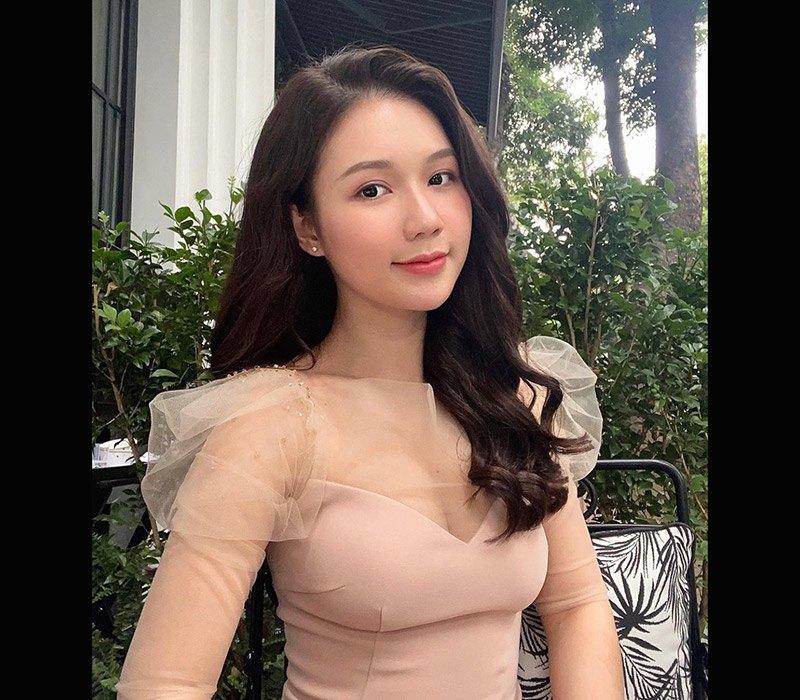 """Cô giúp việc Hân trẻ đẹp là nhân vật của Phạm Ngọc Anh trong """"Mặt nạ hạnh phúc"""" được nhiều người chú ý dù là vai phụ."""