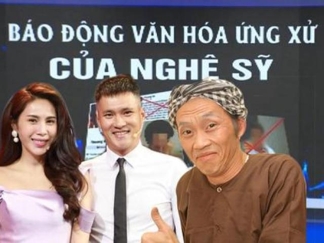 VTV điểm tên Thủy Tiên, Hoài Linh, đề cập đến chuyện cấm sóng dành cho nghệ sĩ