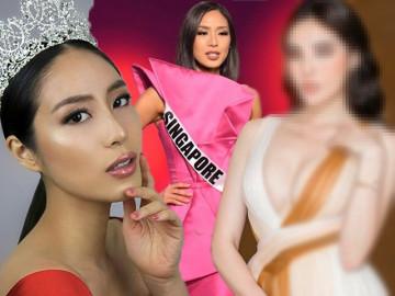 Hoa hậu Singapore sốc vì không được trao lại vương miện, CĐM gọi tên một người đẹp khác của Vbiz