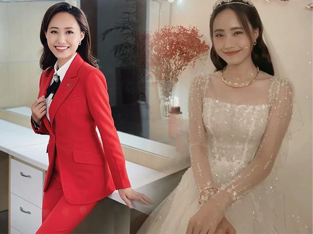 Làm cô dâu mùa dịch, BTV Thời tiết bùng nổ nhan sắc: Không hổ danh mỹ nhân VTV!