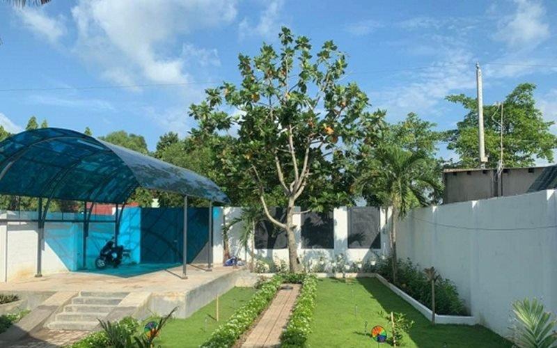 Căn nhà lúc nào cũng căng tràn nắng gió, phù hợp để nghỉ dưỡng.